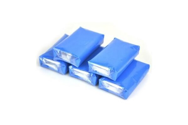 Glina za poliranje auta, 100g, Plava