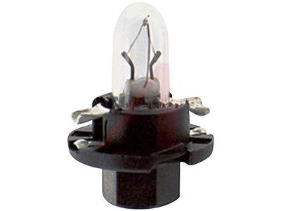Glühbirne (schwarzes Gehäuse) 1,2W Bx8,4d 10 Stück