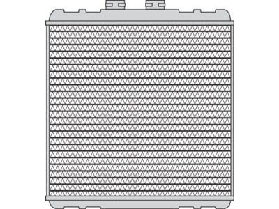 Grejač kabine Audi A2 00-05 (8Z0819030), Behr