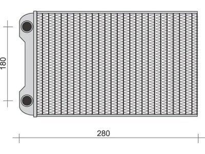 Grejač kabine Audi A4 00-04 (8E1820031)