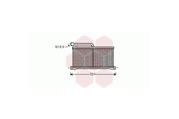Grejač kabine Audi A6 04-08