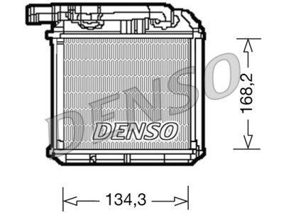 Grejač kabine Audi Q7 05- (7L0819032), Densi