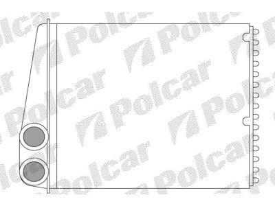 Grejač kabine Mercedes B-KLASSE (W245) 05-11 (64113422666), Valeo