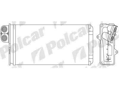 Grejač kabine za Peugeot 607 00-