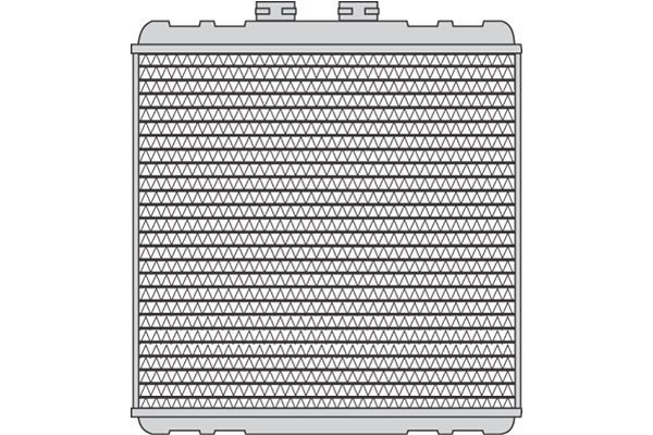 Grijač kabine Audi A2 00-05 (8Z0819030), Behr