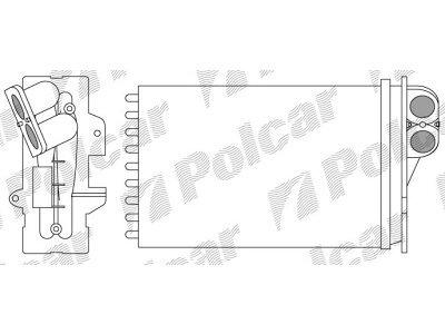 Grijač kabine Citroen C5