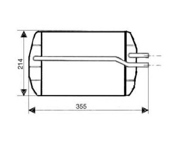 Grijač kabine Ford PUMA 97-02 (1011670), Visteon