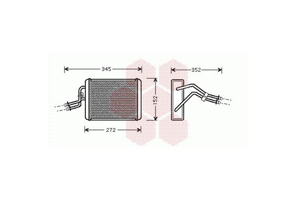 Grijač kabine Ford Transit VI 00- AC+
