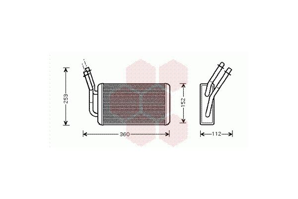 Grijač kabine Ford Transit VI 00- AC-