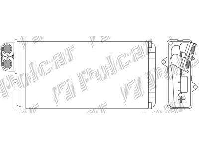 Grijač kabine za Peugeot 607 00-