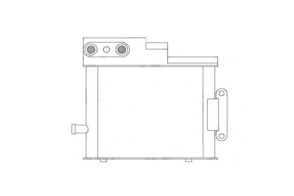 Hladilnik olja Audi A4 00-04, Behr