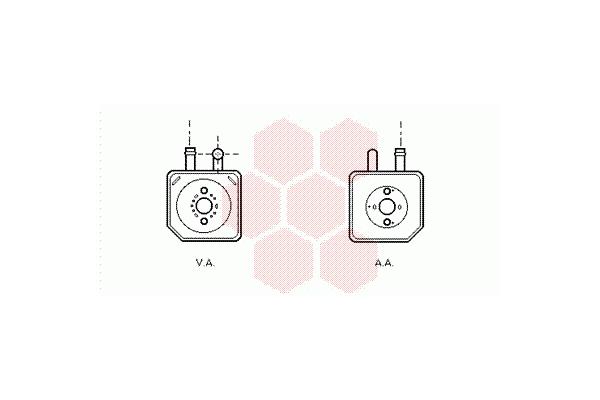 Hladilnik olja Audi A4 00-04, Mobile Air