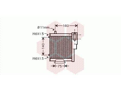 Hladilnik olja Audi A4 00-04, Mobile Air, 8E0 317 021 A