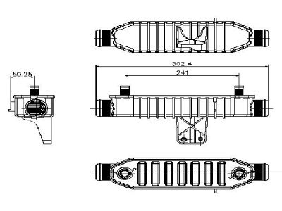 Hladilnik olja Citroen C5 00-04