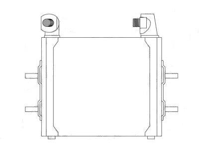 Hladilnik olja Citroen XM 89-