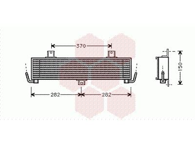 Hladilnik olja Hyundai H100 96-08