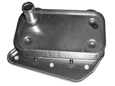 Hladilnik olja Mercedes C W203 00-03, 612-188-0301