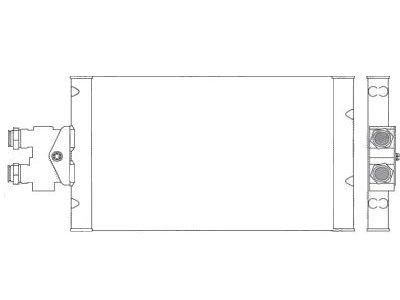 Hladilnik olja Mercedes E (W211) 02-09