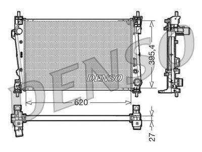 Hladilnik vode 1421082X - Alfa Romeo Giulietta 10-, dizel