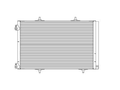 Hladilnik vode 2316K82X - Citroen C2 03-09 (OEM)