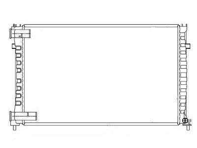 Hladilnik vode 233008-2 - Citroen XM 89-00