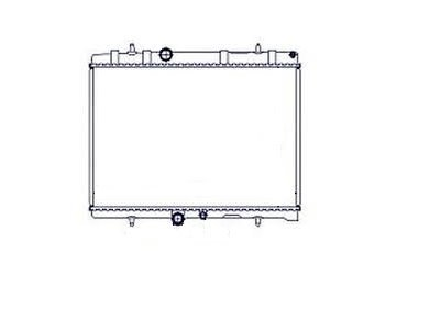 Hladilnik vode 233208A4 - Peugeot 406 99-04