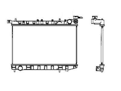 Hladilnik vode 273108-1 - Nissan Almera N15 95-00