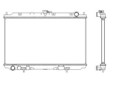 Hladilnik vode 2756084K - Nissan Almera Tino 00-06