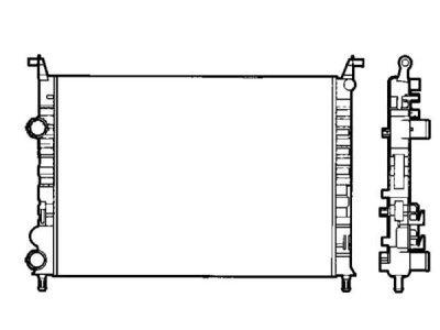 Hladilnik vode 300608A2 - Fiat Palio 00-