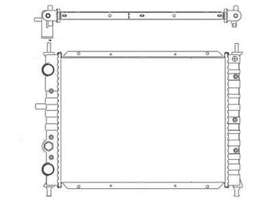 Hladilnik vode 301808-3 - Fiat Marea 96-02