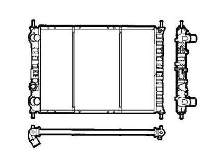 Hladilnik vode 301908-1 - Fiat Marea 96-02