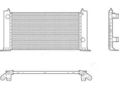 Hladilnik vode 303008A2 - Fiat Stilo 01-07