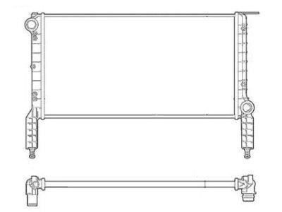 Hladilnik vode 304008-1 - Fiat Doblo 00-06