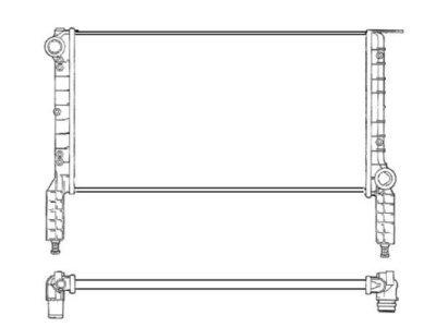 Hladilnik vode 3040082X - Fiat Doblo 00- 06 (OEM)