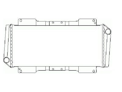 Hladilnik vode 320308-0 - Ford Escort III 80-86
