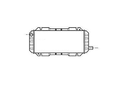 Hladilnik vode 320308-2 - Ford Escort III / Orion 80-86