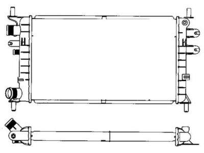 Hladilnik vode 320608A2 - Ford Escort V 90-95