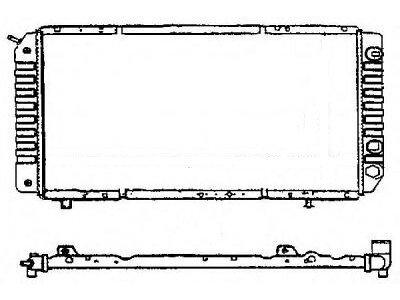 Hladilnik vode 570208-2 - Citroen Jumper 94-01