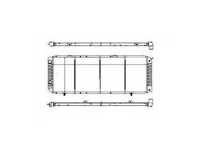 Hladilnik vode 570208A4 - Citroen Jumper 94-02