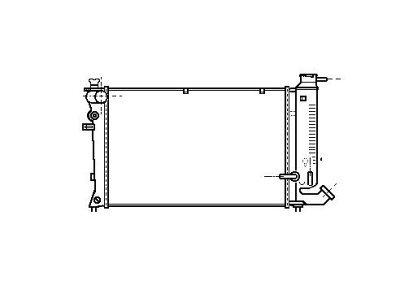 Hladilnik vode 570708-2 - Citroen Xsara 97-00