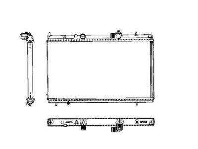 Hladilnik vode 576608-3 - Citroen C5 00-05