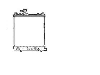Hladilnik vode 740508-2 - Suzuki Wagon R 97-00