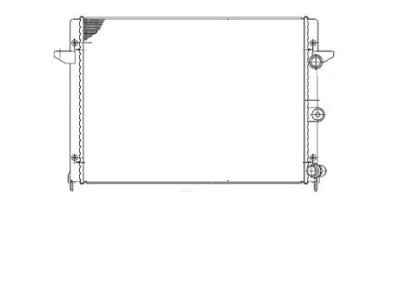 Hladilnik vode Ford Galaxy 00-06