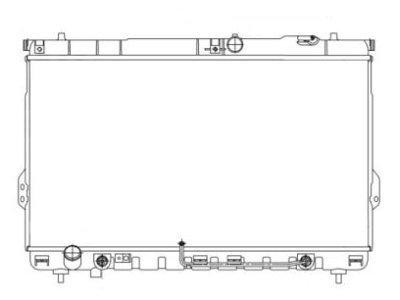 Hladilnik vode Hyundai Santa Fe 00-06