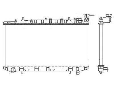 Hladilnik vode Nissan Almera 95-00