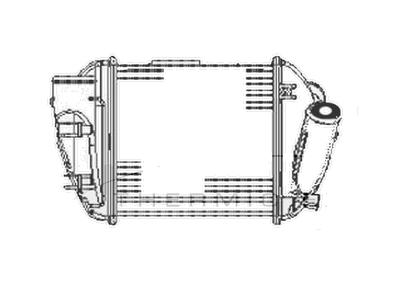 Hladilnik zraka 1325J8-2 - Audi A4 00-04
