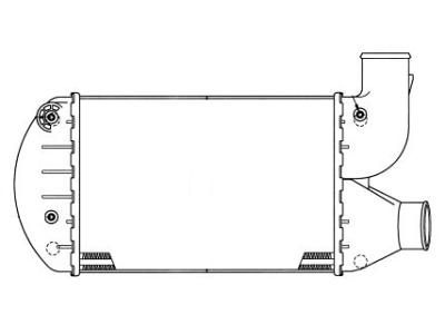 Hladilnik zraka 1402J8-1 - Alfa Romeo 145 94-00