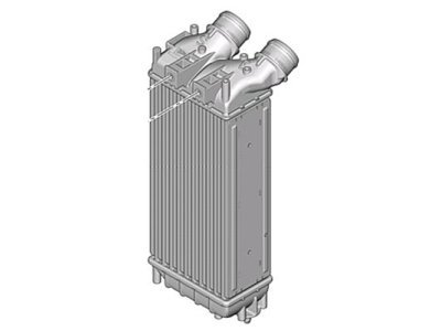 Hladilnik zraka 5712J81X - CITROEN C4, OEM, 10-