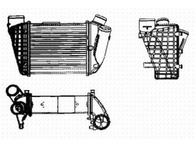Hladilnik zraka Audi A4 2.5 TDI 01-