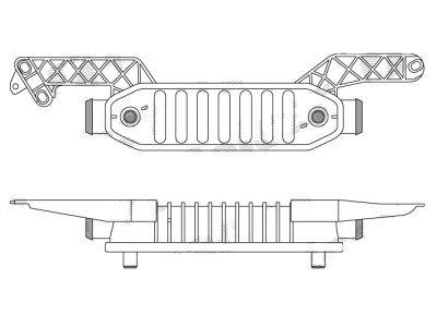 Hladilnik zraka Citroen C5 / Peugeot 406 / 607
